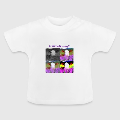 # Yo! Milk Today? - Baby T-Shirt