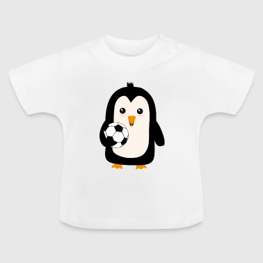 Soccer Penguin with ball Sg3ps - Baby T-Shirt