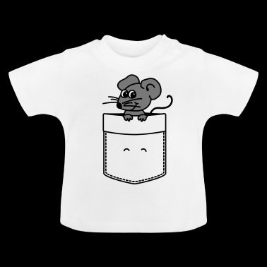 Speedy, the cute pocket mouse - Baby T-Shirt