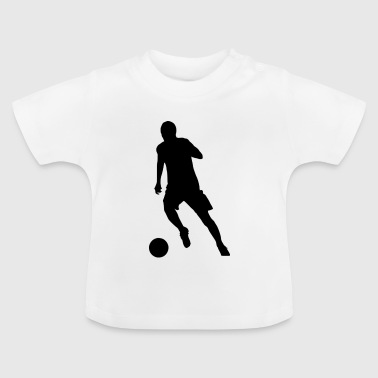 Striker au dribble - T-shirt Bébé