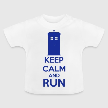 Keep Calm And Run - T-shirt Bébé
