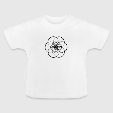 Flower of Life - Baby-T-skjorte