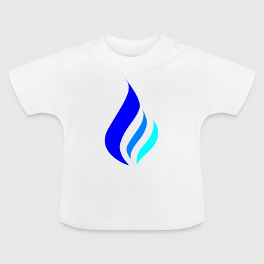 Blue Flame - Blue Flame - Baby T-Shirt