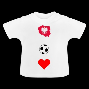 football polonais - T-shirt Bébé