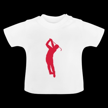 swing de golf - Camiseta bebé