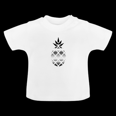 Silber Ananas - Baby T-Shirt