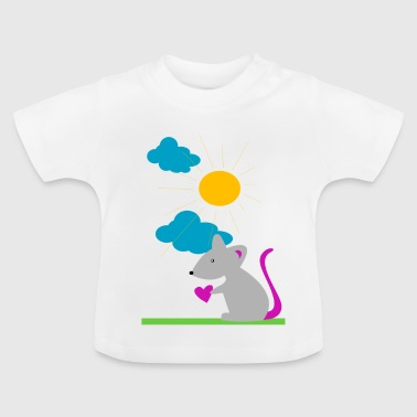 maus sonne - Baby T-Shirt