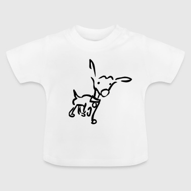 Wouf, j'entends un bruit - basique - T-shirt Bébé