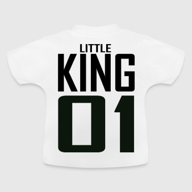 XXXXL LOGO LITTLE KING 01.png - Baby T-Shirt