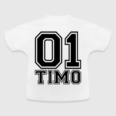 Timo - Name - Baby T-Shirt