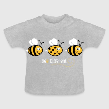 Be different - be yourself - Biene - Bee - 3C - Baby T-Shirt