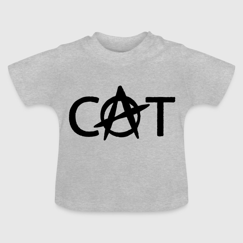 Anarchie Katze - Baby T-Shirt