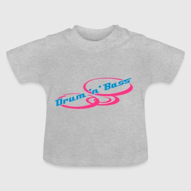 Drum 'n' Bass Design  - T-shirt Bébé