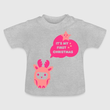 my first christmas - Baby-T-shirt
