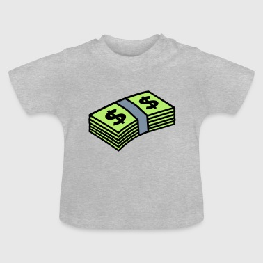 Money dollars 3 colors - Camiseta bebé