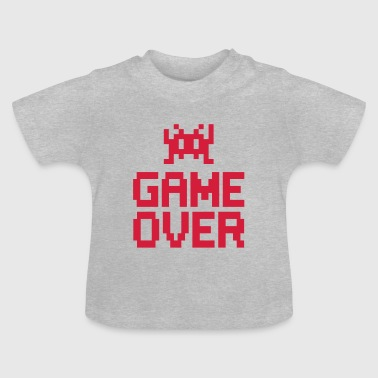 game over with sprite - Baby-T-shirt
