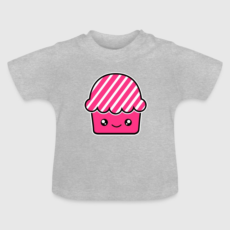 Sweet kawaii cupcake muffin - Baby T-Shirt
