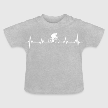 Heartbeat bike - Baby T-Shirt