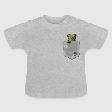 pocket grenouille by customstyle - T-shirt Bébé