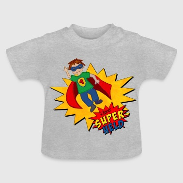Superman kleiner Superheld - Baby T-Shirt