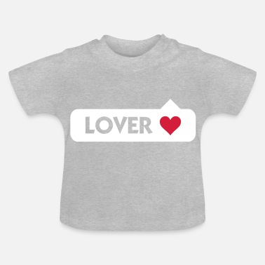 I Love Lover - Baby T-shirt