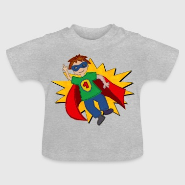 Superman Superheld - Baby T-Shirt