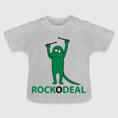 Krokodil rock deal - Baby T-Shirt