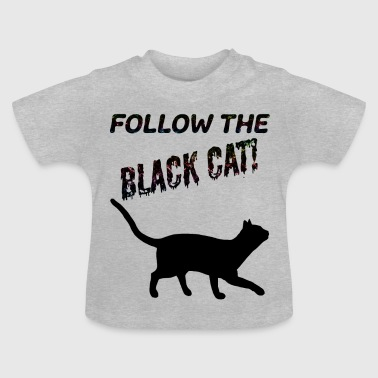 Kat Black Cat - Baby T-shirt