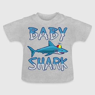 Baby zoon dochter Shark familie partner outfit haai - Baby T-shirt