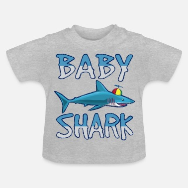 Baby Baby son daughter Shark family partner outfit shark - Baby T-Shirt