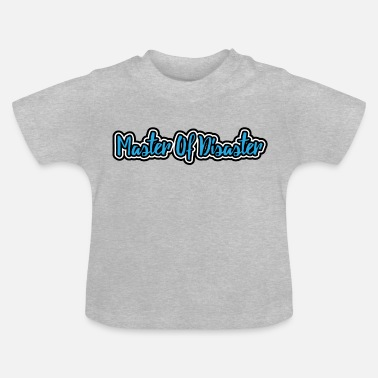 Skrighals Kids Boys Master Of Disaster - Baby T-shirt