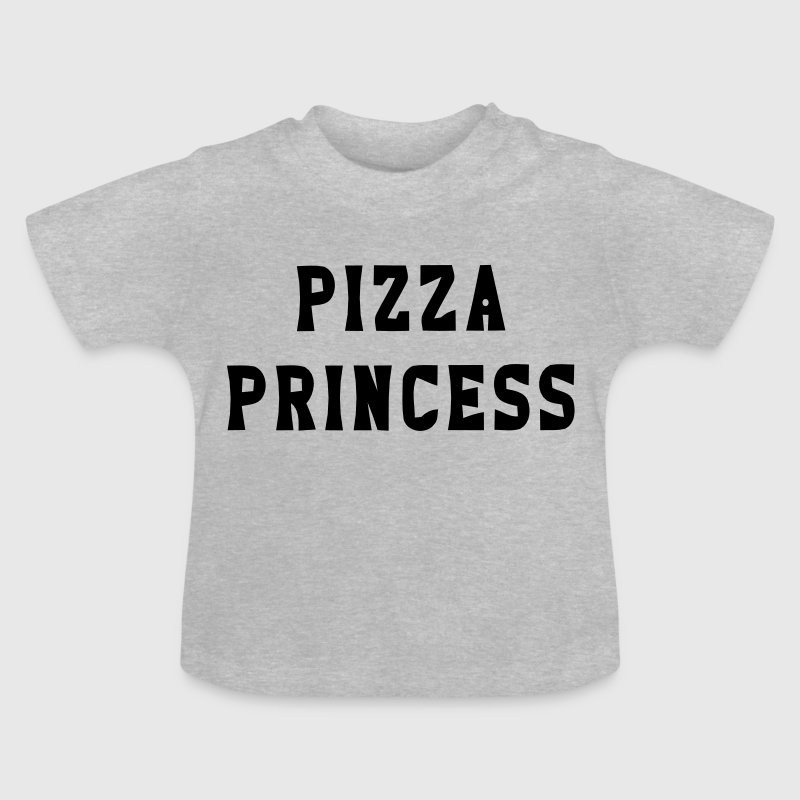 PIZZA PRINCESSE - T-shirt Bébé