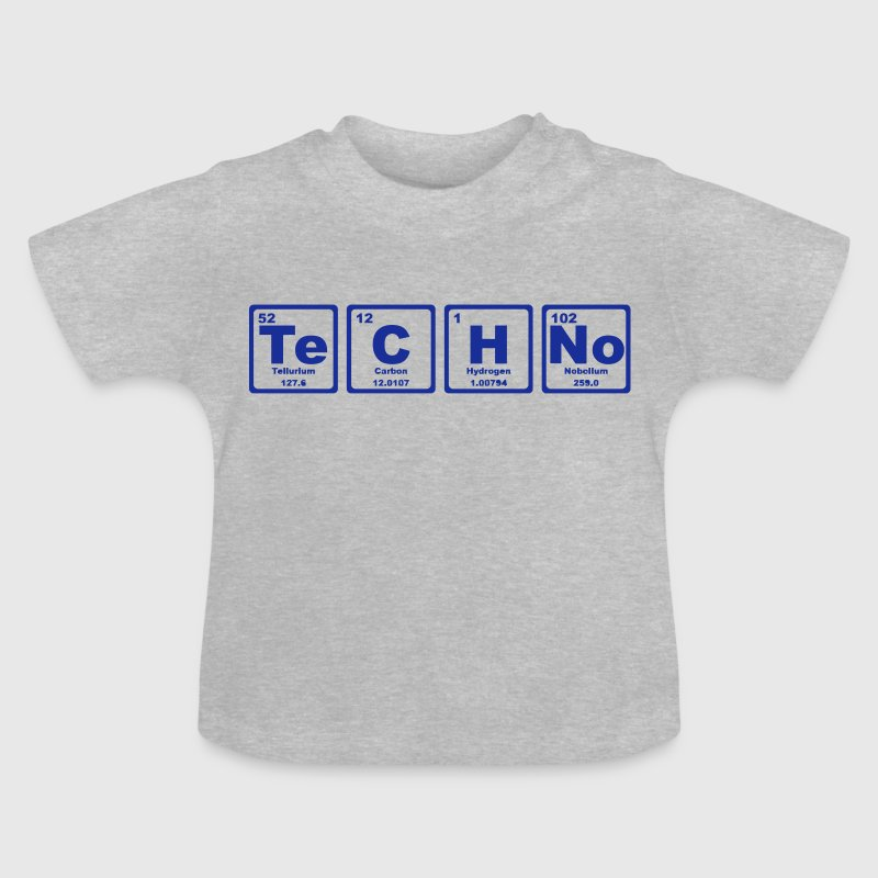 TECHNO PERIODIC TABLE - Baby T-Shirt