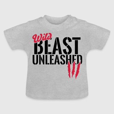 Vilde dyr unleashed - Baby T-shirt
