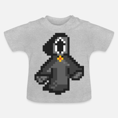 Mantel Death2 Pixel Art - Baby T-shirt