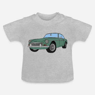 Car AQUAMARINE MGB - Baby T-Shirt