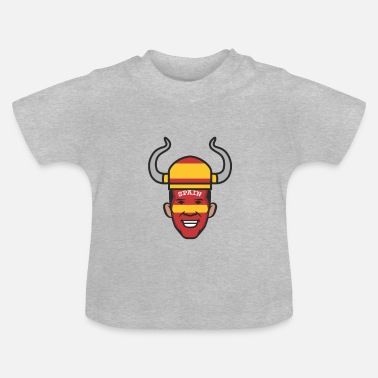Wiking Spanish man with a wiking has - Baby T-Shirt