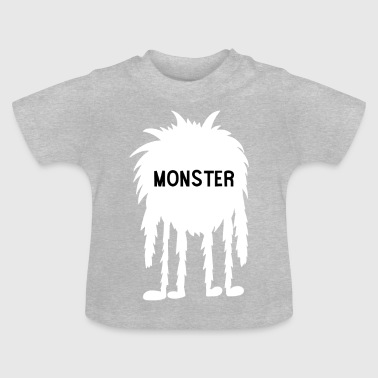 Snuggle monster - Baby T-Shirt