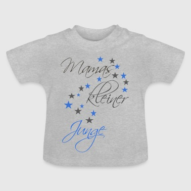 Litte Boy Mom's little boy - Baby T-Shirt