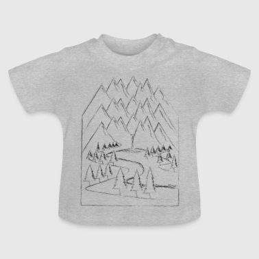 Sports Outdoor mountains nature mountain sports - Baby T-Shirt