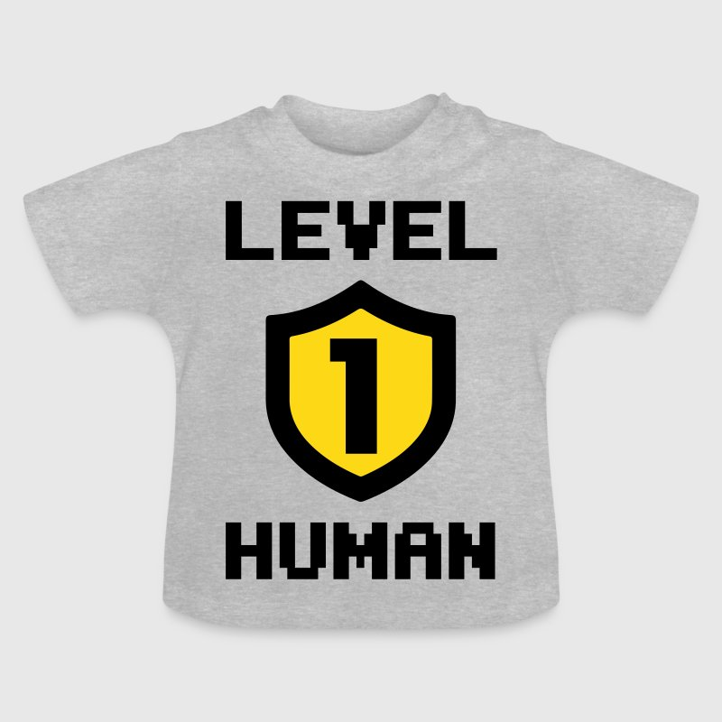Level 1 human - Baby T-Shirt