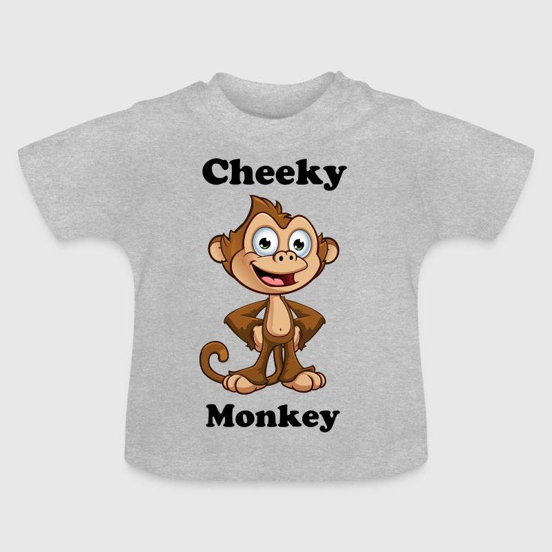 Cheeky Monkey - Hands On - Baby T-Shirt