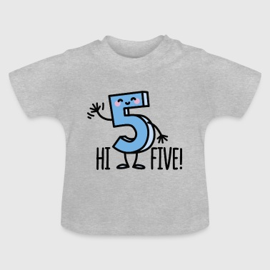 Hi Five! - Baby T-Shirt