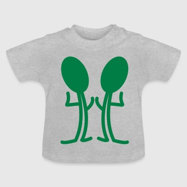 grappige man - Baby T-shirt