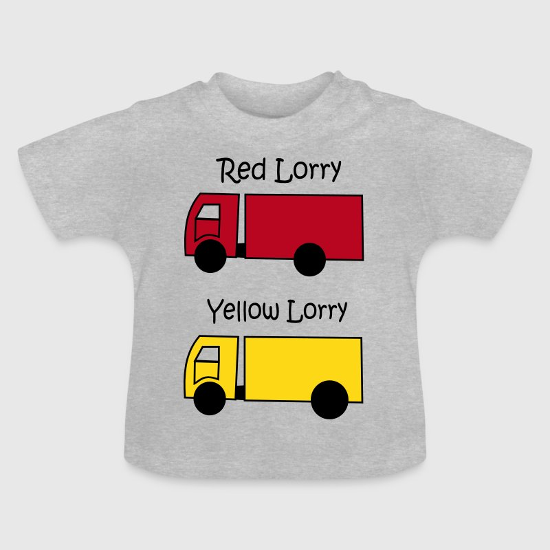 Red Lorry Yellow Lorry - Baby T-Shirt