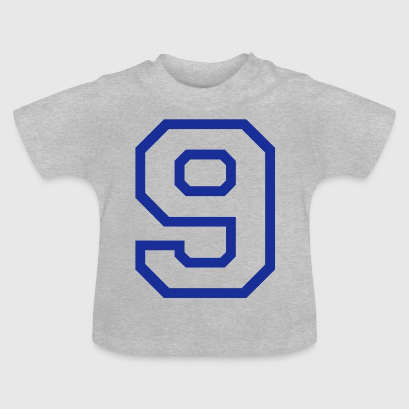 THE NUMBER 9-NINE - Baby T-Shirt