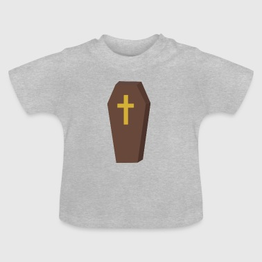 Halloween kistan cross - Baby-T-shirt