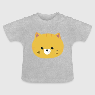 Cute tabby with yellow fur - Baby T-Shirt