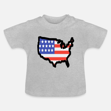 Stat United States - Baby-T-shirt