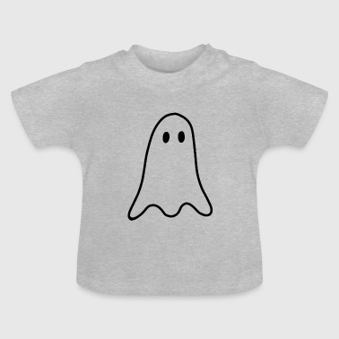 Ghost Ghosts Ghost Halloween - Baby T-Shirt